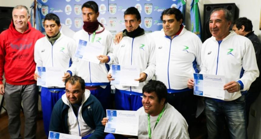 El intendente Poletti reconoció a los  medallistas de los juegos bonaerenses