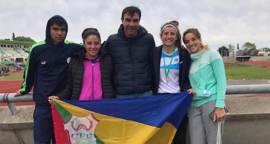 CAMPEONATO PROVINCIAL U18: Podios para Agostina Esconjaureguy y Alan Rodríguez