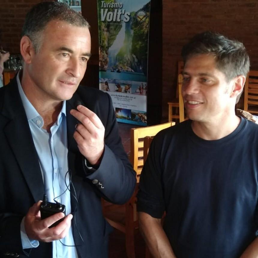 El Intendente Poletti se reunió con Kicillof