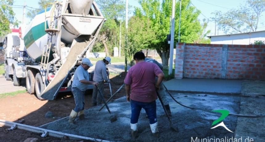 Avanza la construcción del cuartel de Bomberos
