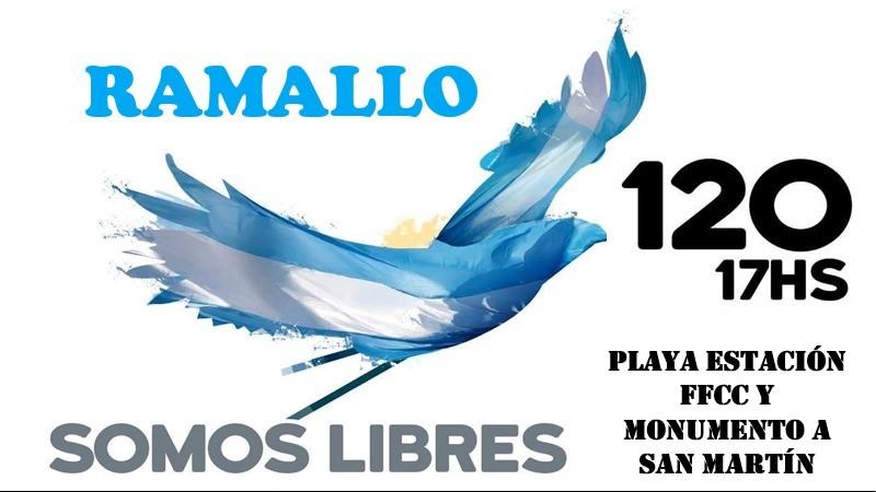 Marcha del 12 de octubre: Convocan a una movilización en Villa Ramallo