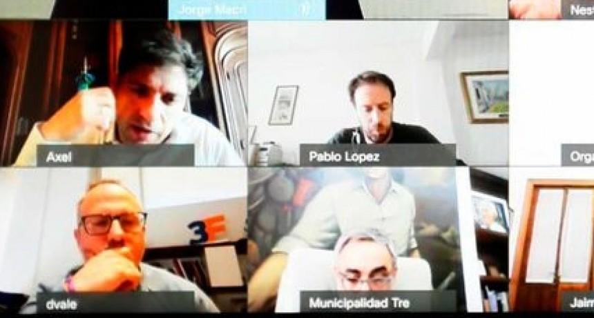 El Intendente Perie participó de la reunión de Intendentes con el gobernador Kicillof