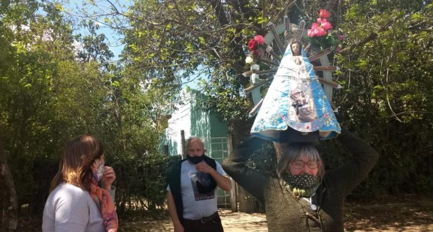 La Virgen de Luján peregrina por Ramallo