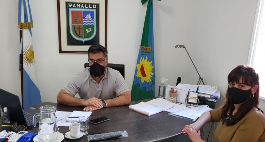 Firmaron el convenio para recuperar el Paseo de los Olivos entre el municipio y la provincia