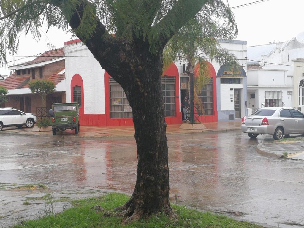 Accidente en Panno y Rivadavia