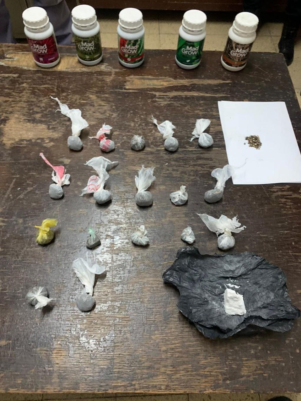 Esclarecen un caso de abigeato y encuentran drogas en el allanamiento