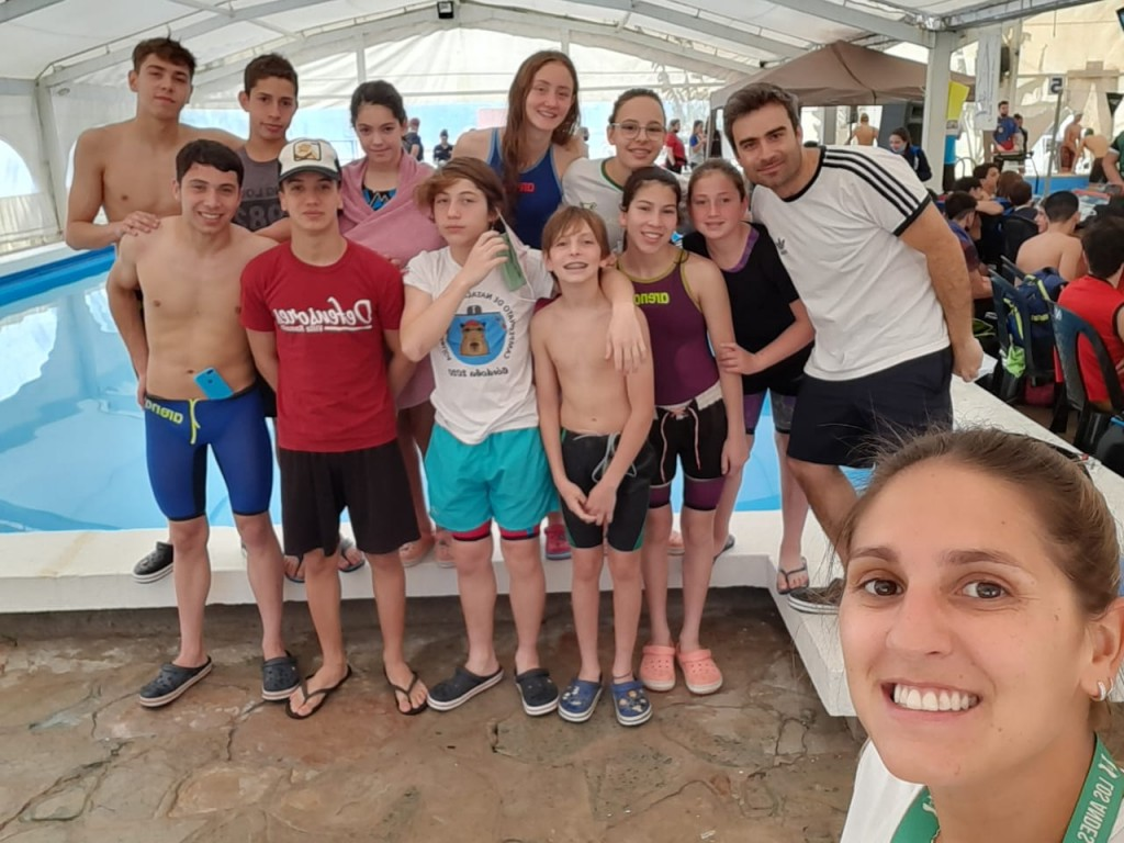 Muy buenos resultados de los nadadores ramallenses en San Pedro