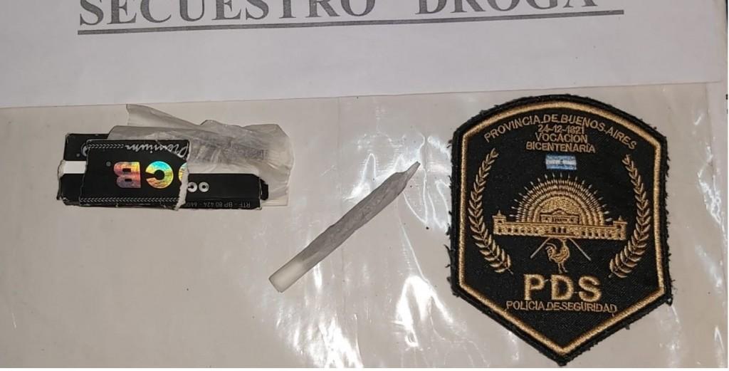 Pérez Millán: Aprehendidos con drogas