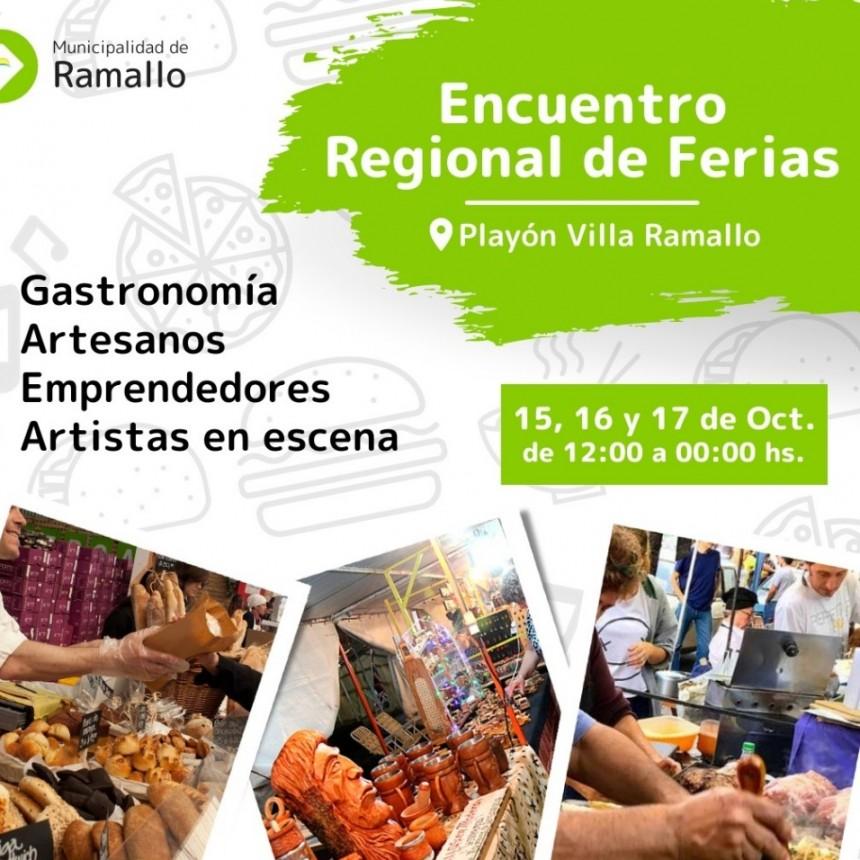 Encuentro Regional de Ferias en Villa Ramallo