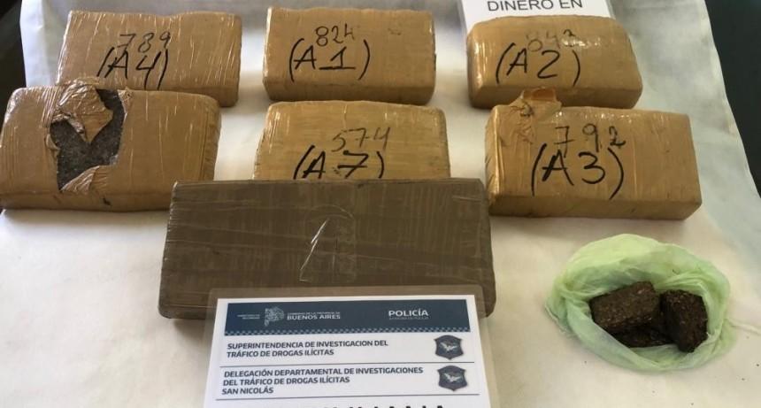 Detenidos por tenencia de drogas