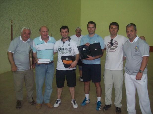 """Jorge Villegas y Diego Fernández ganaron la """"Copa Ciudad de Ramallo"""""""
