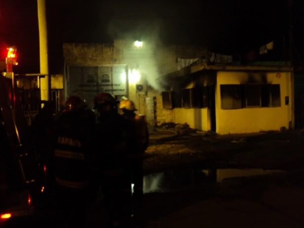 Se incendió una vivienda en Ramallo