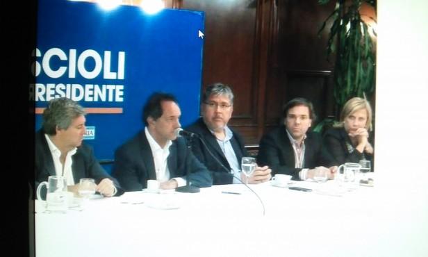 Graciela Rego y legisladores provinciales se reunieron con Daniel Scioli