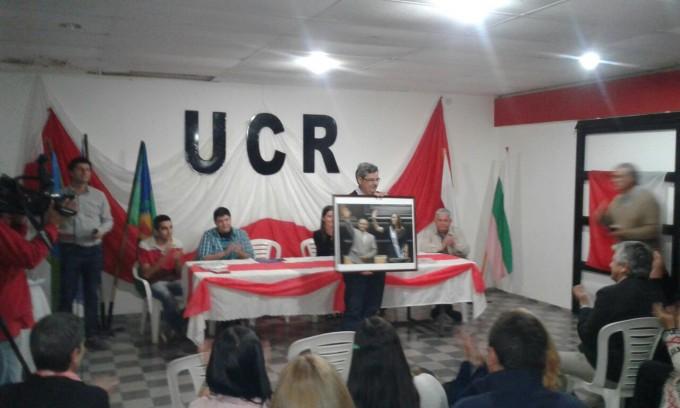 Asumieron las nuevas autoridades en la UCR