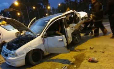 Profundo pesar: falleció una joven en un choque en el camino de la costa