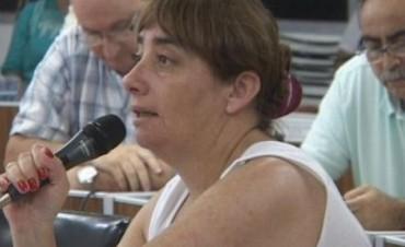 """Concejal Marta Gómez """"Creo que en la próxima sesión el tema se va a tratar"""""""