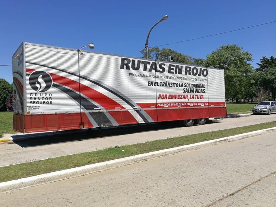 Rutas en Rojo Programa Nacional de Prevención de Siniestros