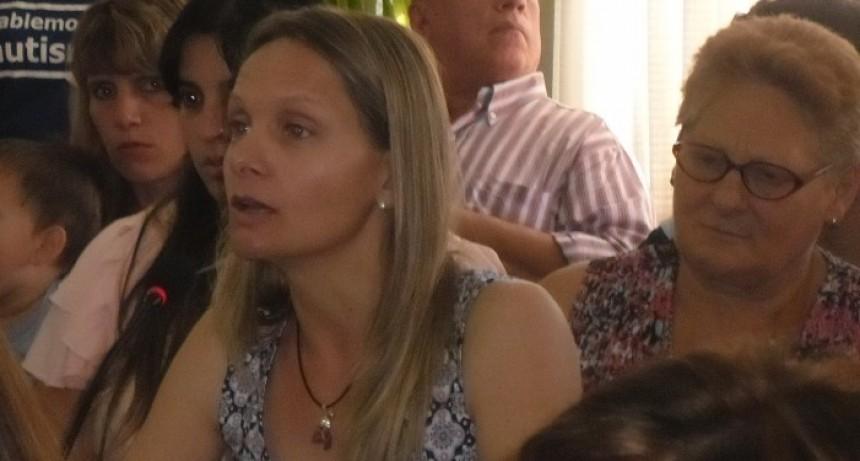 Ricciardelli 'La gente de Ramallo ha venido con sus fundamentos, ha estudiado mucho, para mí fueron muy enriquecedoras las ponencias'