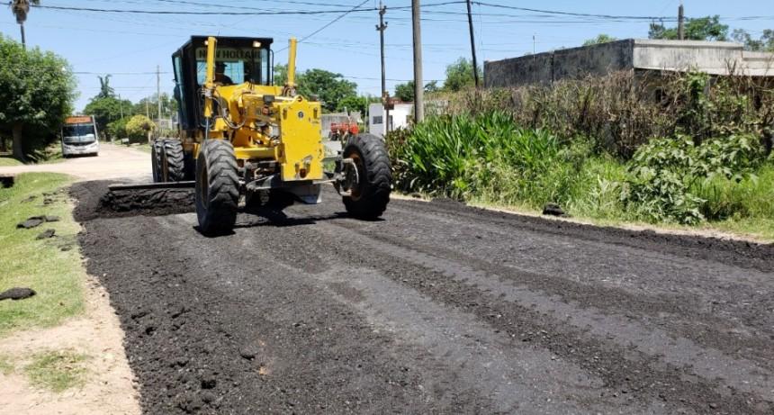 Poletti 'Esta obra significa para el municipio una inversión de un millón y medio de pesos'