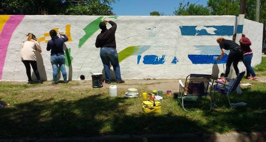 Avanzan los murales urbanos