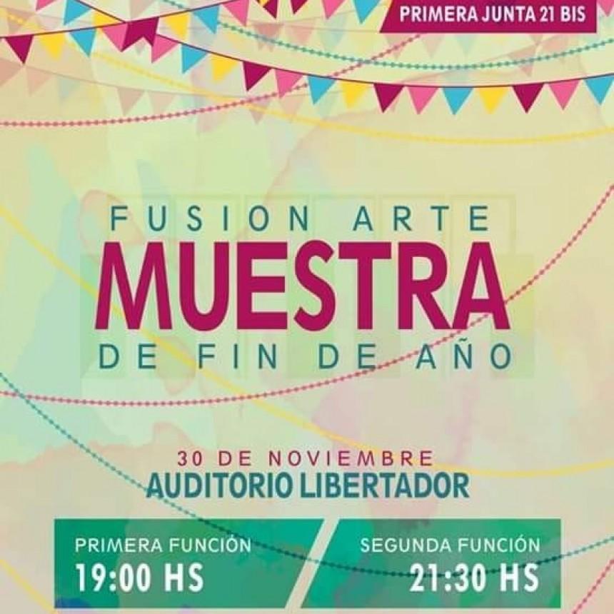 Muestra anual de Fusión Arte