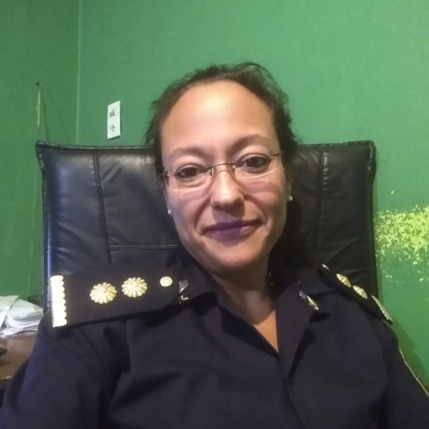 La Comisario Natalia Rojas es la nueva titular de la Comisaría Segunda