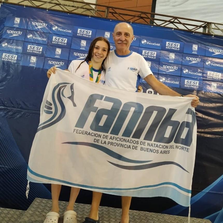 Brillante participación de Catalina Oviedo en el Campeonato Paulista