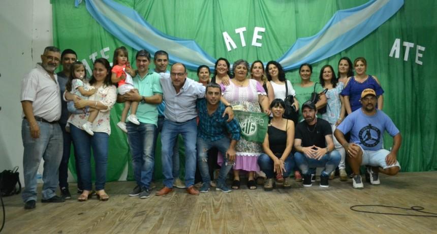 Lescano 'Acá hay grupo solidario que pelea por los derechos de los trabajadores'
