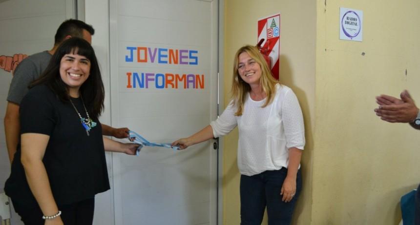 Villa General Savio: La escuela secundaria 5 inauguró su Radio Digital