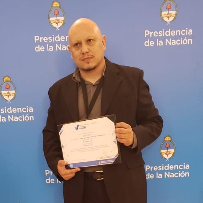 Distinción para el Ingeniero Montivero por la labor desarrollada al frente de la Subsecretaría de Modernización municipal