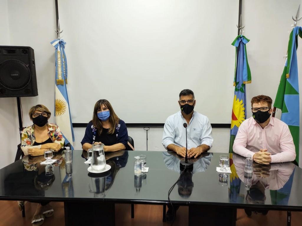 El intendente Gustavo Perié celebró la creación del primer Instituto de Formación Docente y Técnica público y gratuito de Ramallo