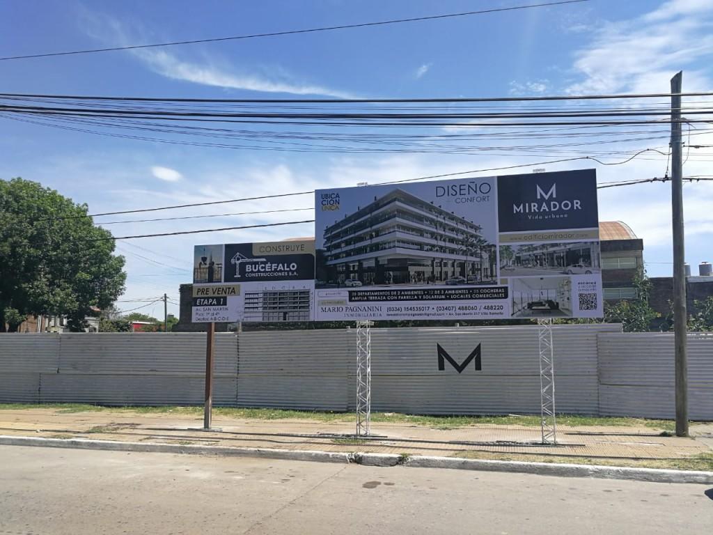 Anuncian la construcción de un nuevo edificio en el centro de Villa Ramallo