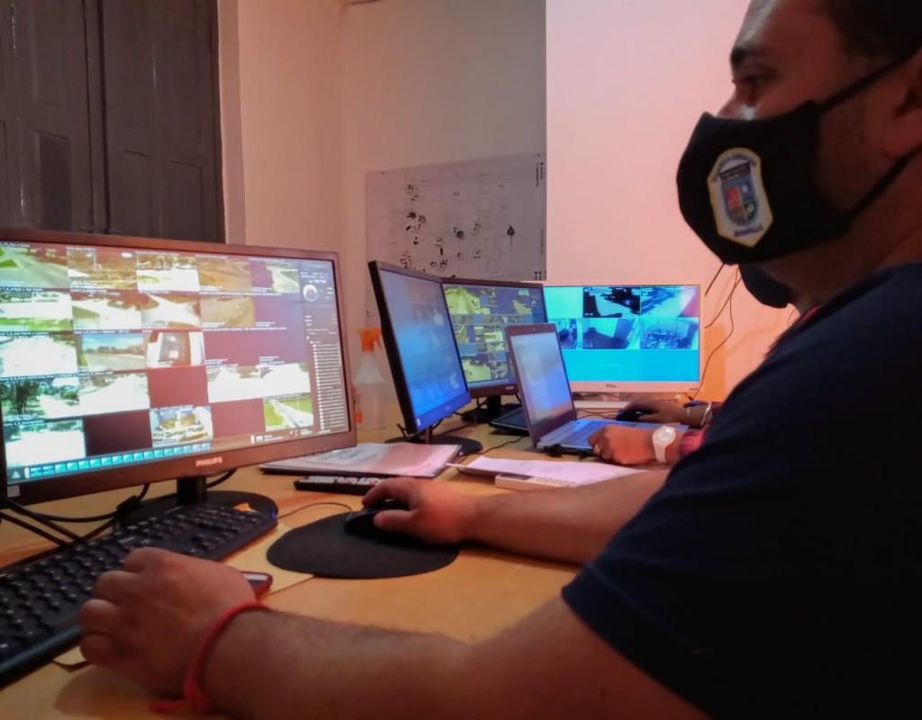 El Centro de Monitoreo colaboró en el esclarecimiento de tres delitos