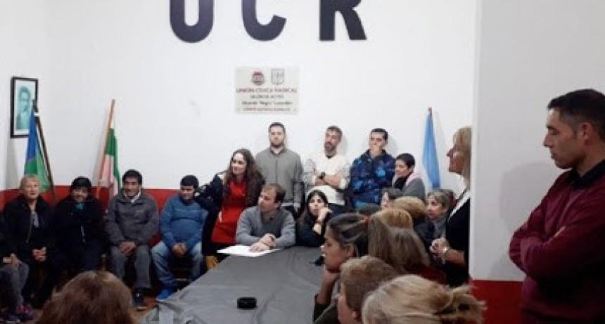 Se oficializaron las listas del radicalismo para las internas distritales