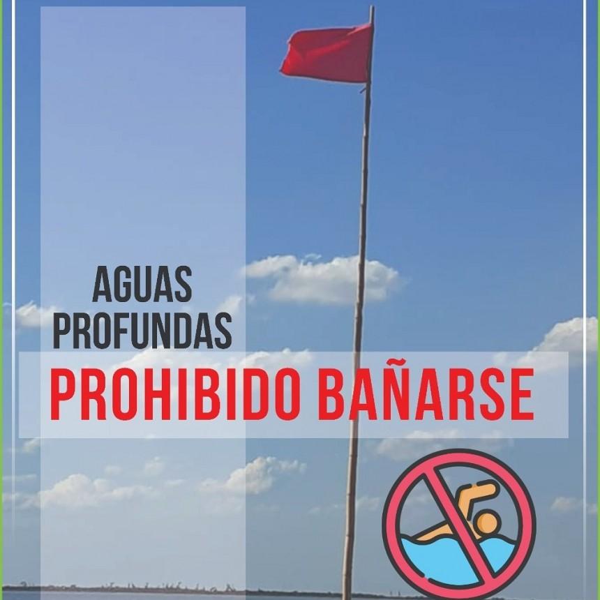 Prohibición de baño en el Paraná