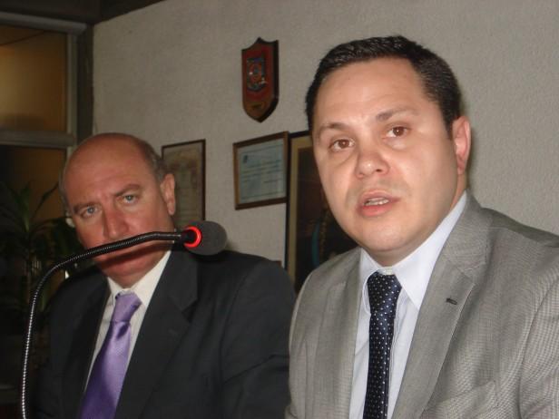 Santalla se reunió con el fiscal federal Dr. Di Lello
