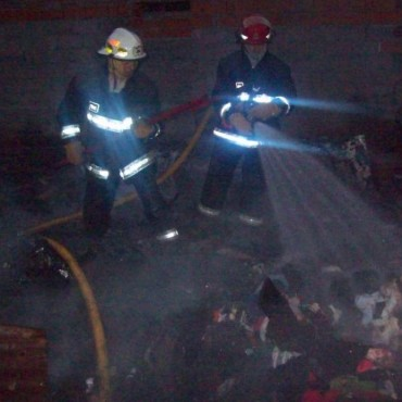 Se incendió una precaria vivienda en Ramallo