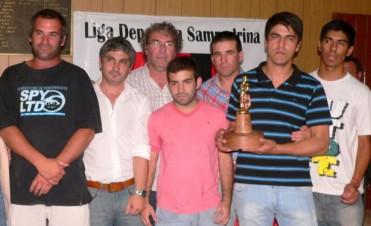 """Gral. San Martín de Pérez Millán se llevó el premio mayor, el """"Pedro 2013"""""""