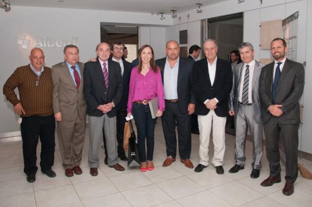 Darío Parlascino se reunió con María Eugenia Vidal