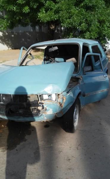 Violenta colisión en la ciudad de Ramallo