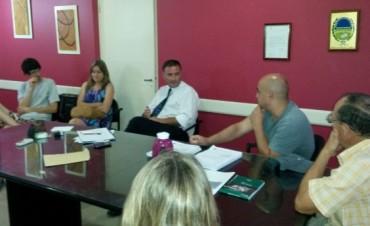 UPVA se reunió con el Intendente Poletti