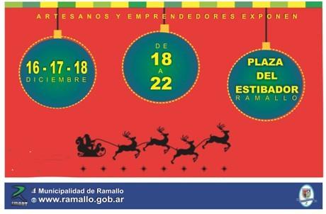 Se viene la Primera Feria Navideña en Ramallo