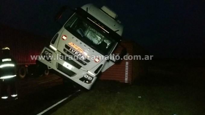 Trágico accidente en ruta 9