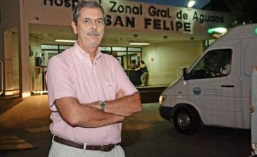 "Informe del Doctor Ruggeri Director del Hospital ""San Felipe"""