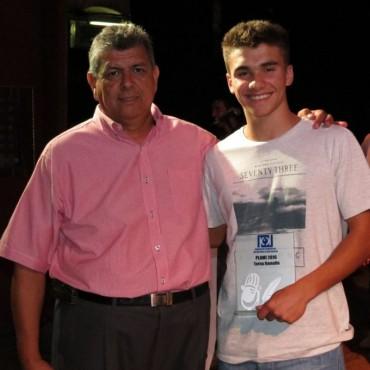 José Simó se quedó con el Plumi de Ramallo, Fernando Luna ganó en Fútbol Profesional y Jordan Etchemendi en Fútbol local