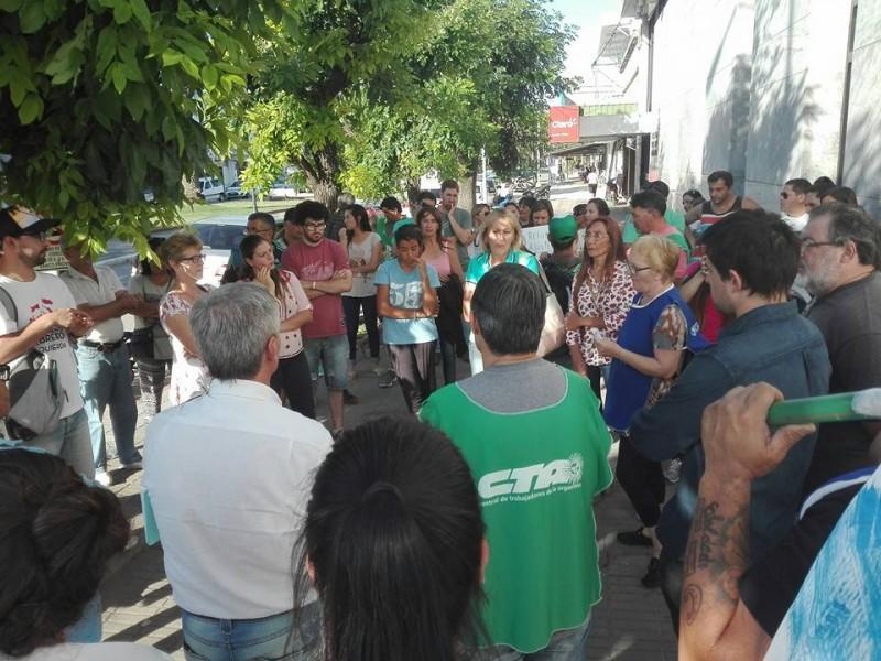 Protesta contra la reforma previsional