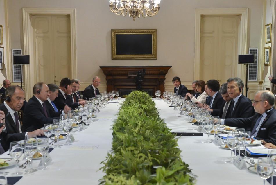 Tras el G20 el proyecto ruso se relocaliza