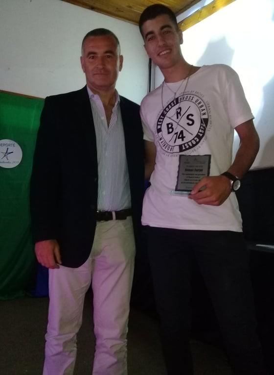Subsecretaria de Deportes Municipal: Tomas Farjat deportista del año en Ramallo