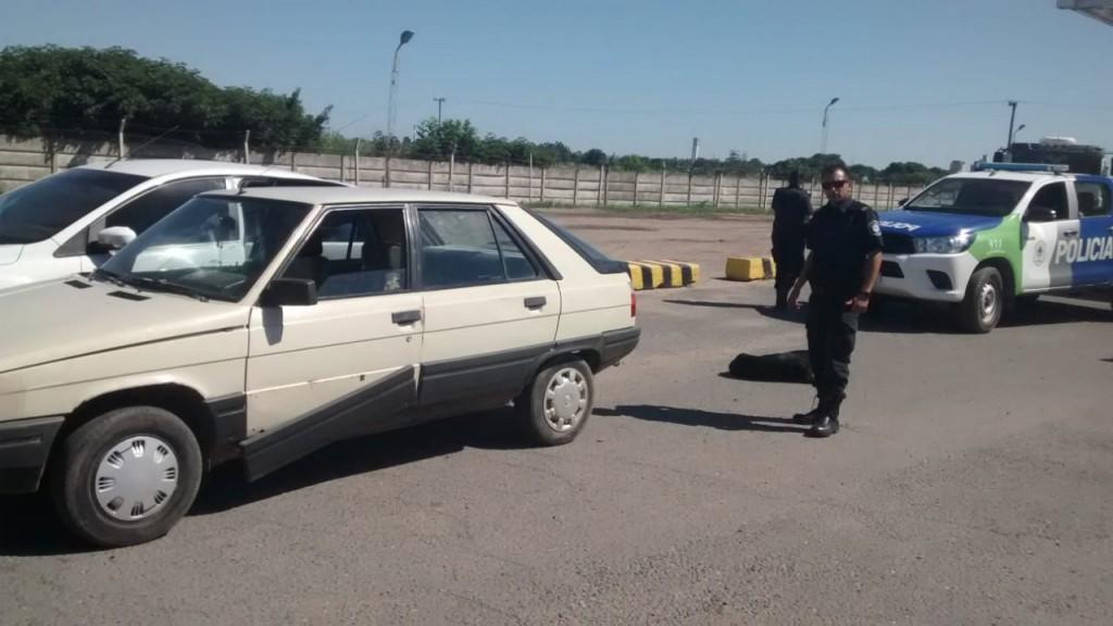 Recuperan un auto robado