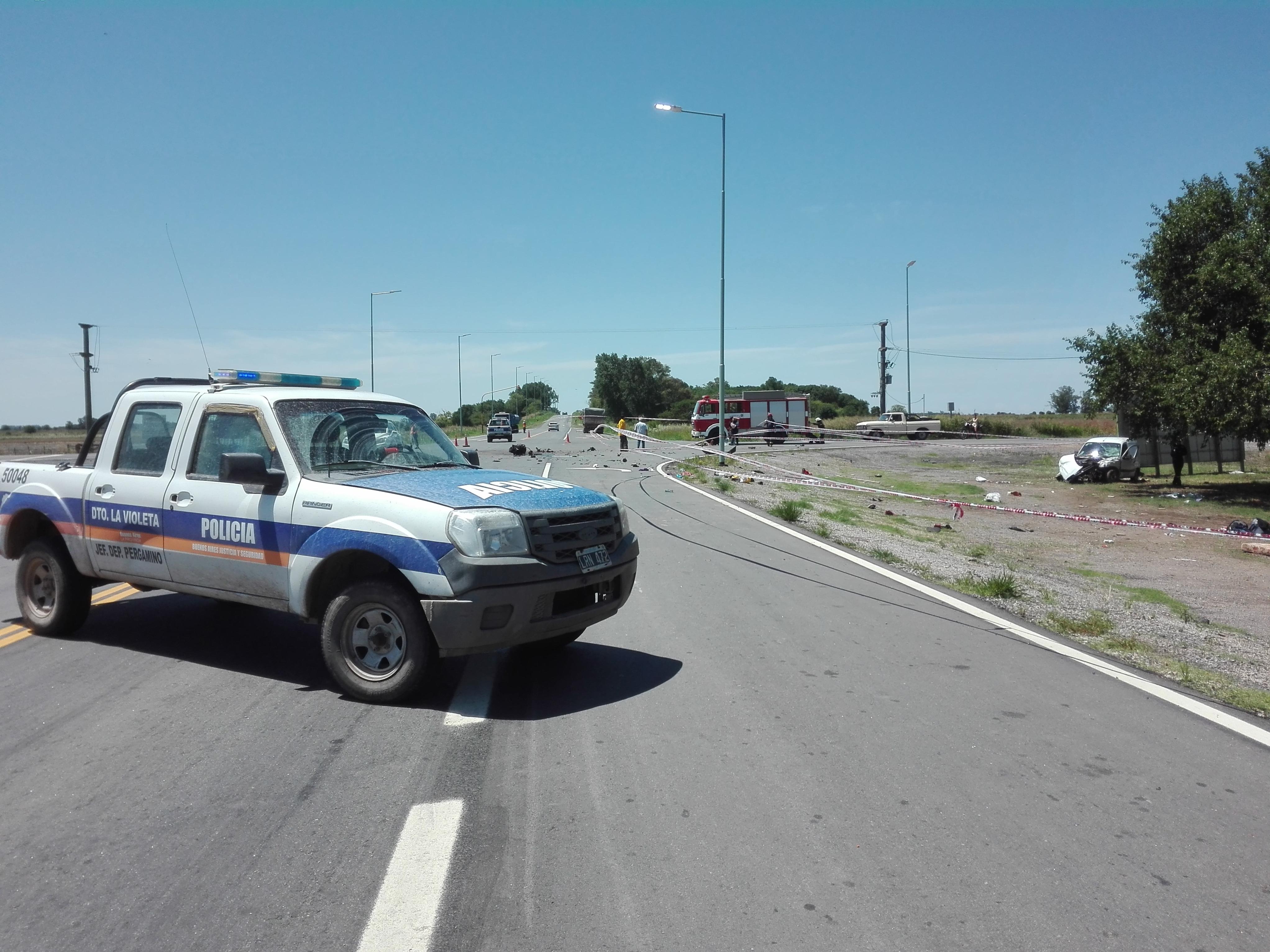 Los heridos fueron trasladados al hospital Gomendio y a San Nicolás